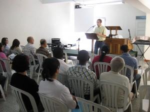 Preaching in Medellín